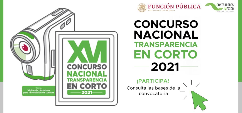 Convocatoria al Concurso Nacional de Transparencia en Corto