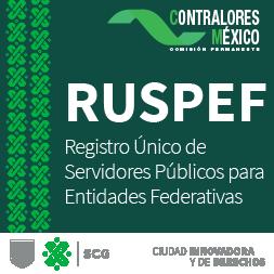 Imagen con texto: Registro Único de Servidores Públicos para Entidades Federativas